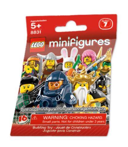 8831 LEGO Minifigures S7 - Bag