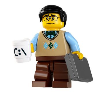 Lego-Minifigure-S7-Computer Programmer