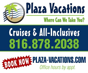 Plaza Vacations Cruise and Travel Agency Thanks the Metro for Ranking Us #1 in Customer Satisfaction Every Year Since 2011. Book Cruises, River Cruises and All-Inclusives Securely Online or By Calling (816) 878-2038 for Fast, Free, Personlized Service!