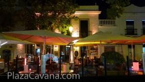 Plaza Cavana Nerja At Night