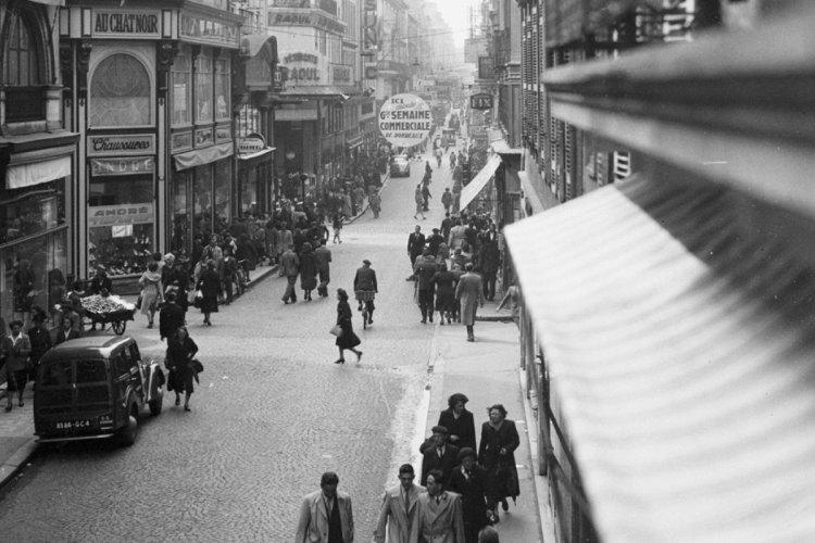 bordeaux - la-rue-sainte-catherine1949