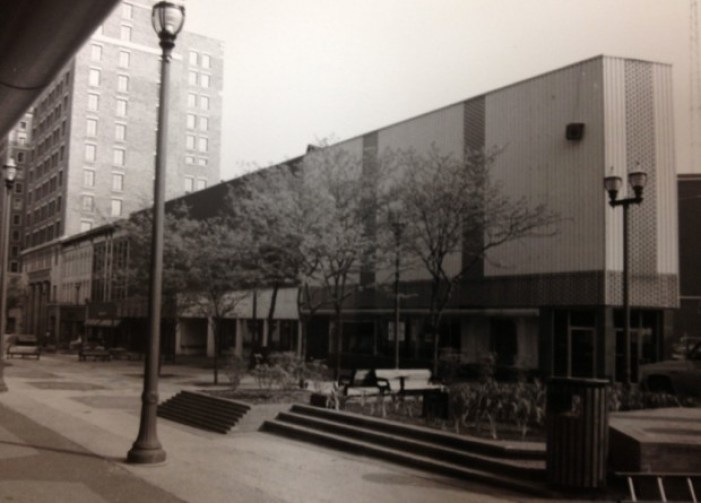 Monroe Center, Grand Rapids, Michigan, circa 1970s.