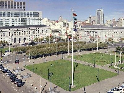 San Francisco Civic Center Plaza
