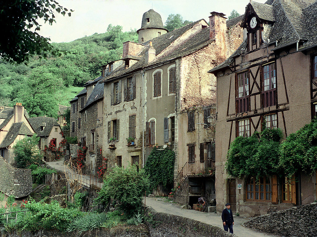 Conques France on Small Modern House Blueprints