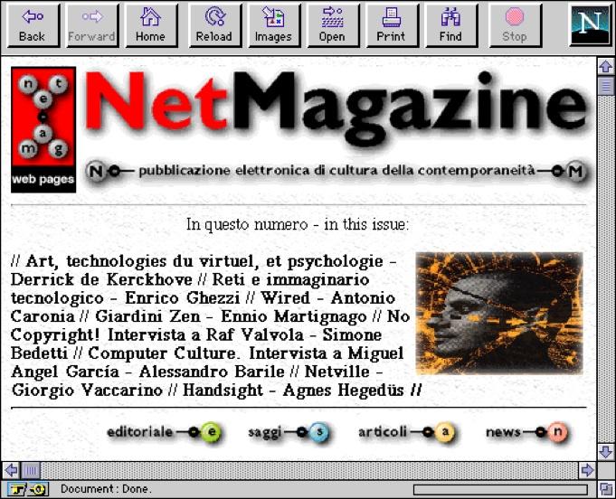 NetMagazine Web