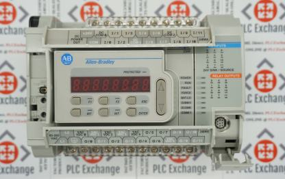 Allen-Bradley 1764-24BWA Micrologix1500 Base unit with 1764-LRP Processor, 1764 data access terminal and 1764-MM1 Memory Card; Complete kit