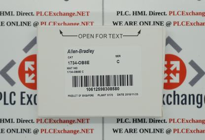Allen-Bradley 1734-OB8E POINT I/O 8 Point Digital Output Module