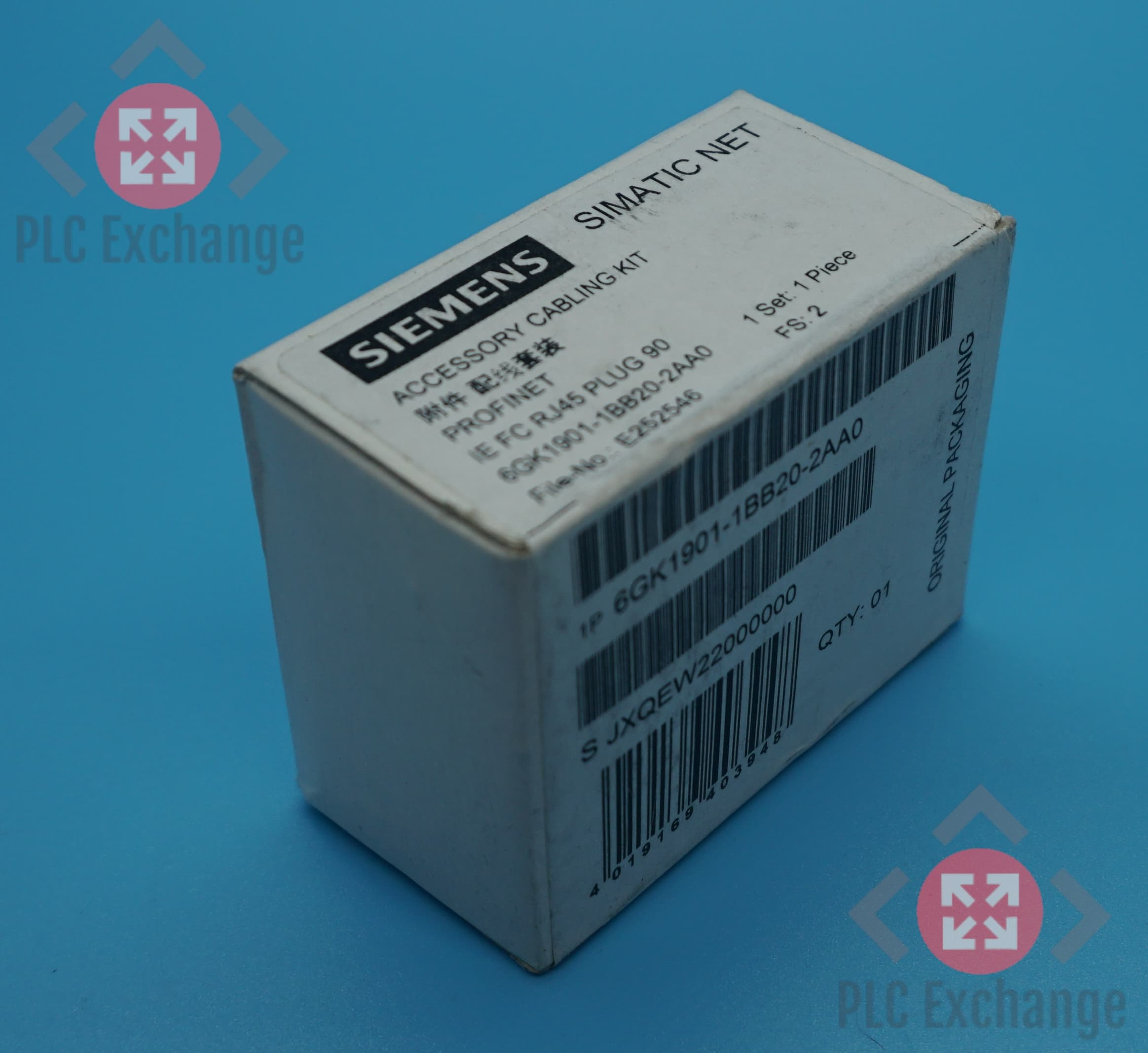 New Lot of 5 Siemens Simatic Net 6GK1901-1BB20-2AA0 Industrial Ethernet Plugs
