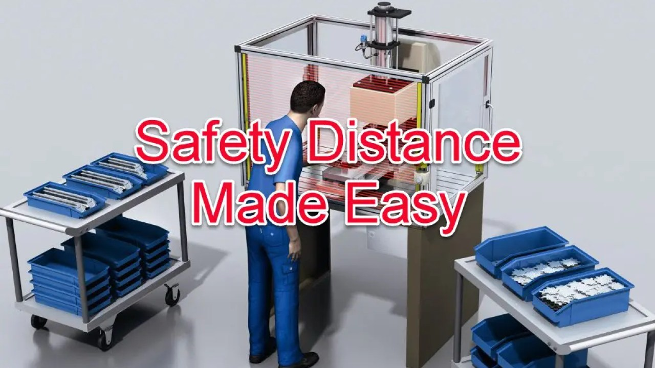 Safety Distance Calculation Made Easy | PLCGurus NET