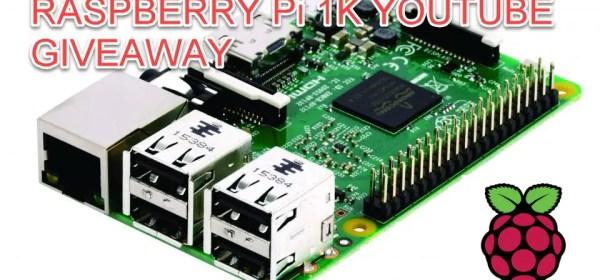1K Giveaway - FREE Raspberry Pi | PLCGurus NET