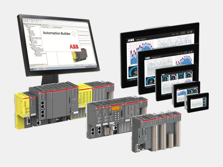 ABB's PLC automation devices deliver solutions.