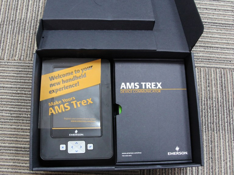 Emerson AMS Trex Device Communicator TREXCHPNAWS1S in stock