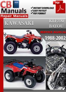 Kawasaki KLF220 Bayou 1988-2002 Service Manual Free Download