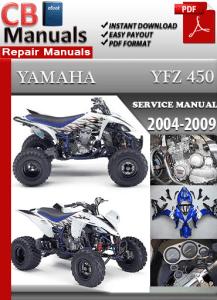 yamaha yfz 450 2004 2009 service manual free download service rh servicemanualsfreedownload wordpress com yfz450 service manual 2007 yfz 450 service manual 2006
