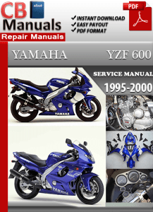 yamaha yzf 600 1995 service manual free download service. Black Bedroom Furniture Sets. Home Design Ideas