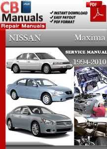 Free 96 nissan maxima repair manual