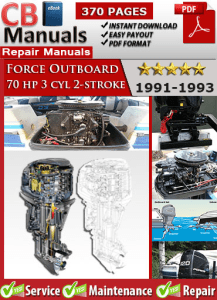 force outboard 70 hp 70hp 3 cyl 2 stroke 1991 1993 service rh onlinefactorymanuals wordpress com 70 hp force outboard motor manual 70 hp force outboard motor manual