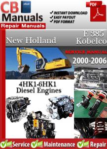 Isuzu 4HK1-6HK1 Diesel Engine 2000-2006 Workshop Service Manual