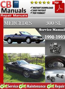 mercedes 300sl 1990 1993 workshop service manual digitalworkshoprepair rh digitalworkshoprepair wordpress com Mercedes 300D Mercedes 350