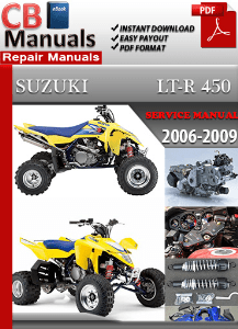 Suzuki Ltr 450 2006 2009 Service Manual Scroll Down And View Post