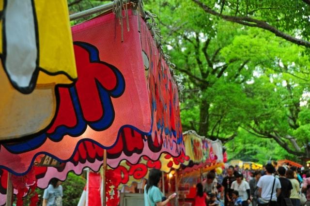篠路神社例大祭2018日程や神輿の時間など開催情報!屋台の出店も注目