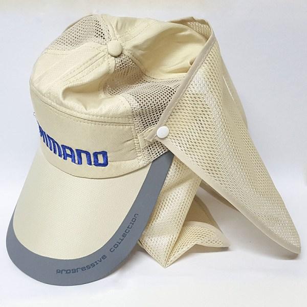 Gorra Shimano protección solar cuello