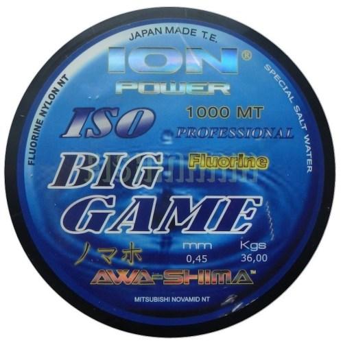 Hilo fluorine AWA SHIMA BIG GAME ION POWER 1000 mts - 035m