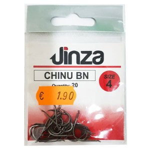 Anzuelo Jinza Chinu BN - Paleta