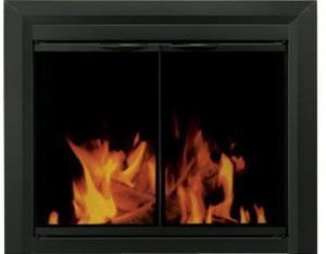 Pleasant-Hearth-CL-3002-Carlisle-Fireplace-Glass-Door