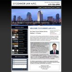 Criminal Attorney Web Design