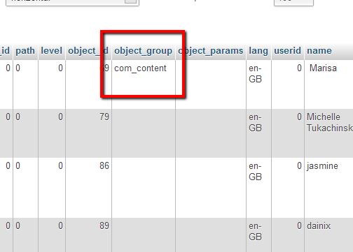 jcomment database