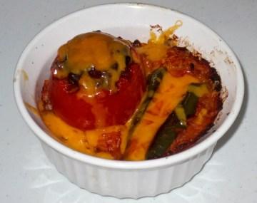 stuffed tomato and jalapeño 7