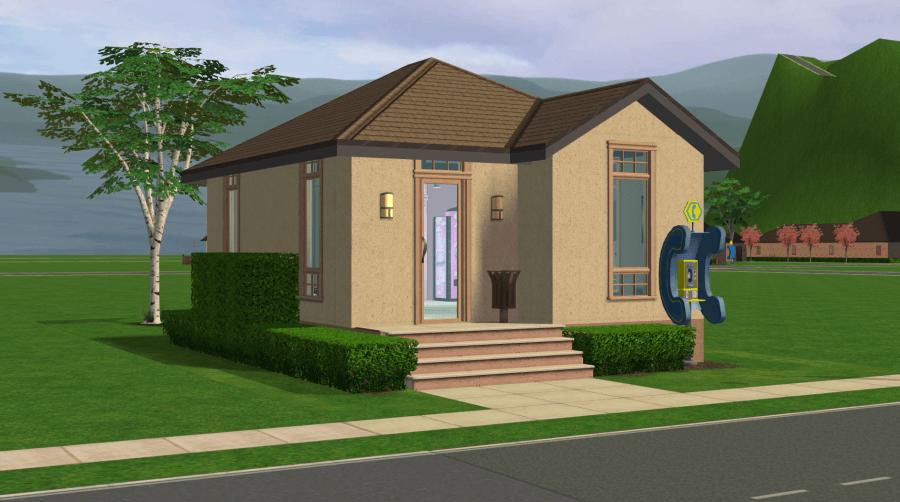 Pleasantview Workforce Center - Sims 2 Community Lot