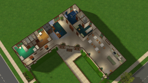 Pleasantview Retirement Home Bottom Floor Detail