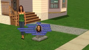 Make Family CHild Sims 2 Tombstone L and D