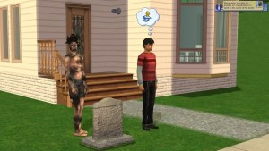 Resurrect a Sim with Tombstone of Life and Death - Sims 2