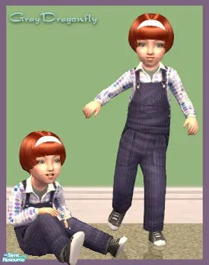 The Sims 2 Unisex Toddler CC