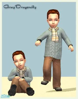 Toddler CC Unisex Sims 2