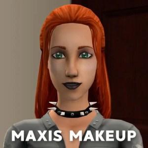 Lilith Maxis Makeup