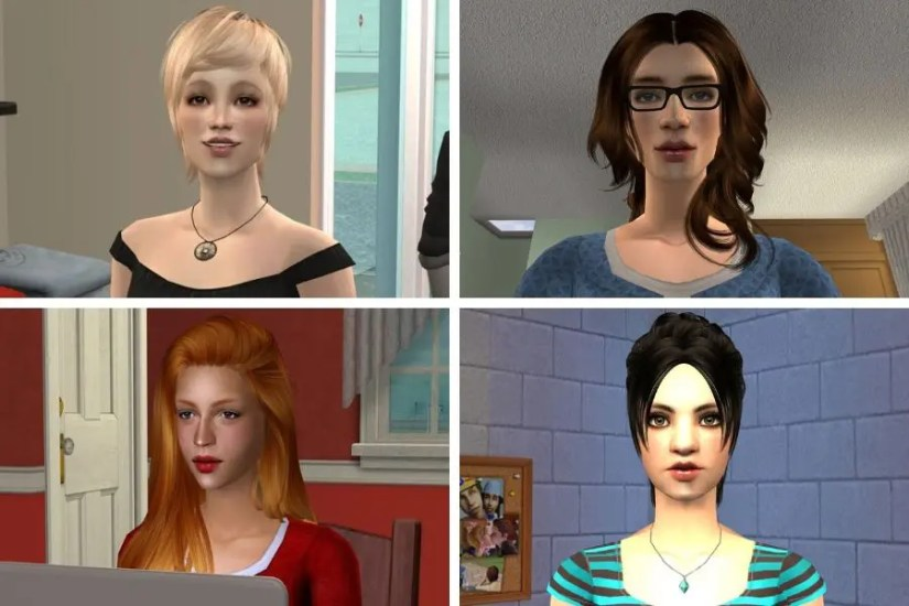Female Sims of Edgewood