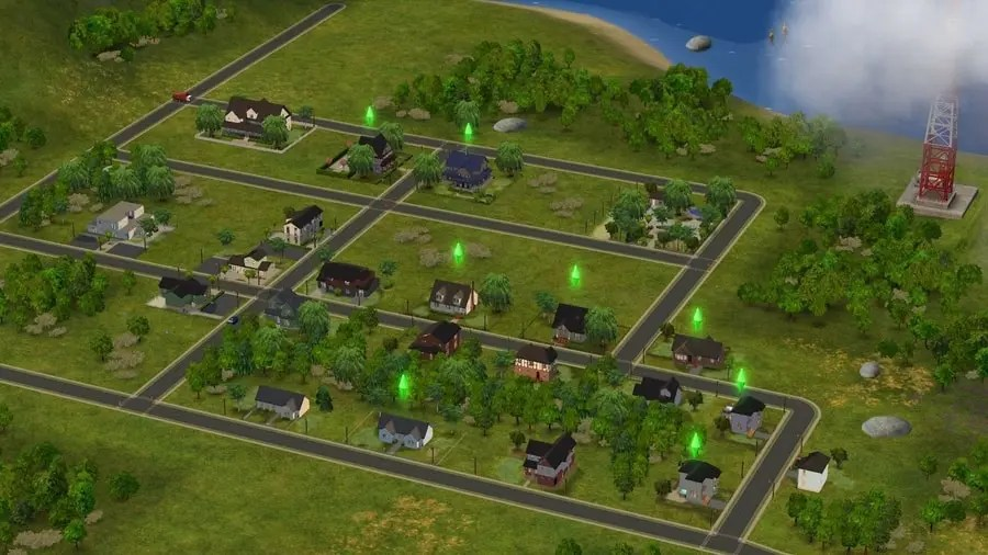 Fairplay - Sims 2 Custom Neighborhood - No CC