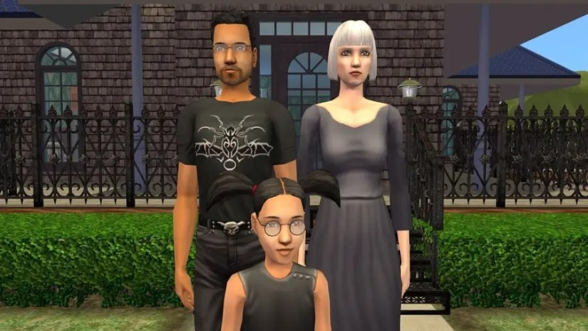 Sims 2 Fairplay Graves Family