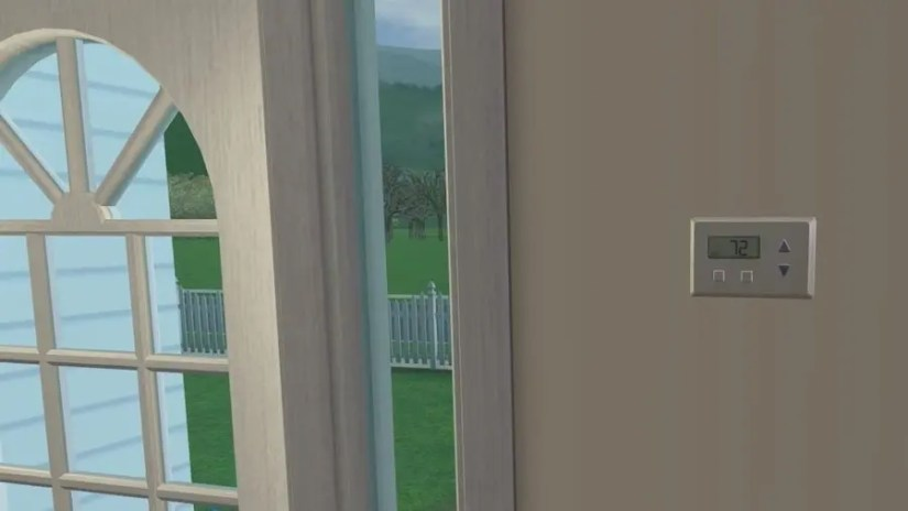 Sims 2 Thermostat