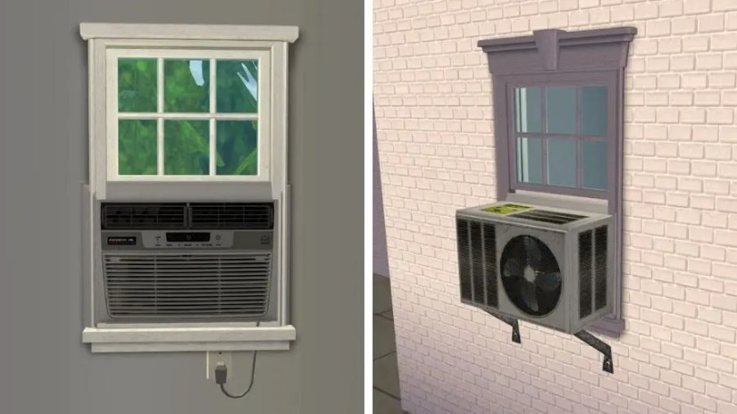 Sims 2 Window Air Conditioner