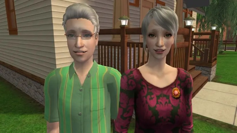 The Sims 2 Fairplay Oakley Family 2 CC