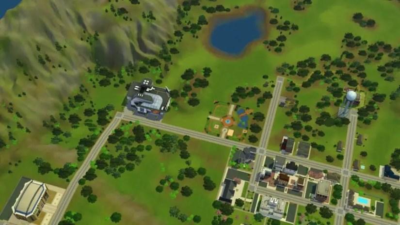 Big Show Venue Sims 3 Pleasantview