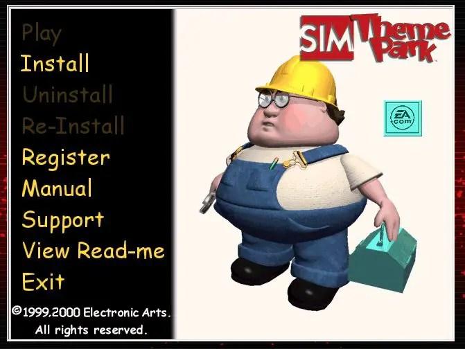 Sim Theme Park Installer