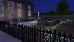 Cemetery at Night 2