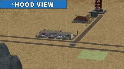 Desert Sands Strip Mall Hood View