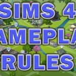 The Sims 4 Gameplay Rules ~ Pleasant Sims Style